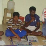 English teacher for Tamil children