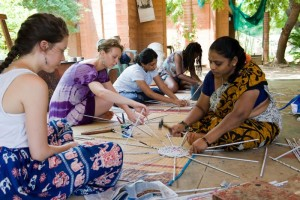 Collaborating with a Women Empowerment Project